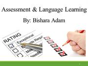 Assessment & Language Learning