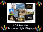 TEMPLE LIGHT DISPLAYS FROM AROUND THE WORLD