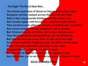 Paris - The night the world saw red