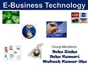 e-business technology ( MIS)