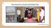 Devoting Life to God by Shri Radhe Maa