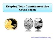 Keeping Your Commemorative Coins Clean