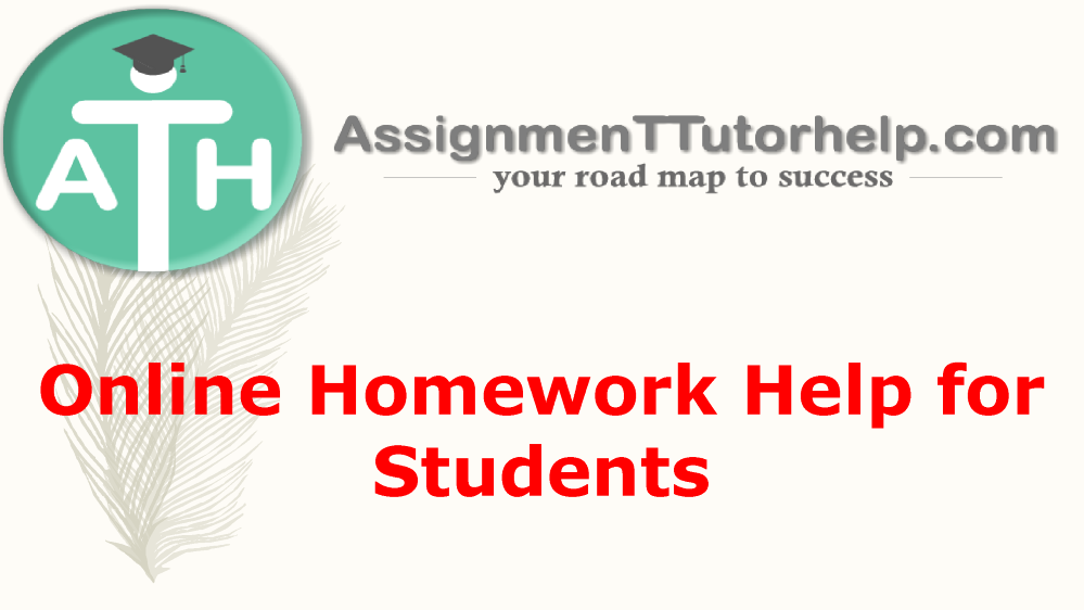Your homework, fine-tuned to academic requirements