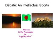 About Debate