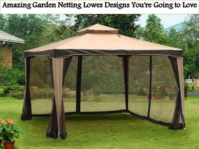 Amazing Garden Netting Lowes Designs Youre Going to Love