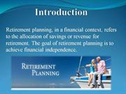 Retirement Planning Scheme by Globaleye