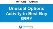 Unusual Options Activity in Best Buy $BBY