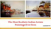 The Most Realistic Indian Artists Paintings ever seen- 2015
