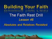 Building Your Faith Lesson 46