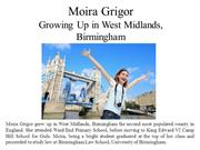Moira Grigor Growing Up in West Midlands Birmingham