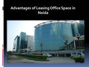 Advantages of Leasing Office Space in Noida-26-11-2015