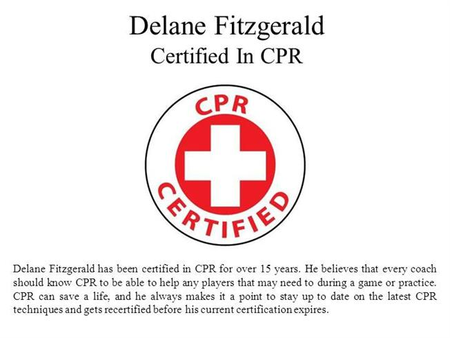 Delane Fitzgerald Certified In Cpr Authorstream