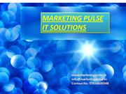 SEO - SMO Proposal - Marketing Pulse IT  Solutions