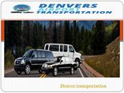 Denver transportation Service With Best Facilities