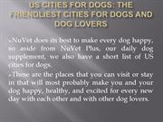 US Cities for Dogs :The Friendliest Cities for Dogs and Dog Lovers