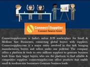 Connect Supplier - India's Largest B2B Marketplace