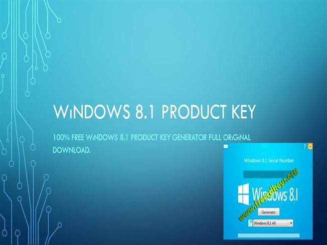 free windows product key for windows 8.1