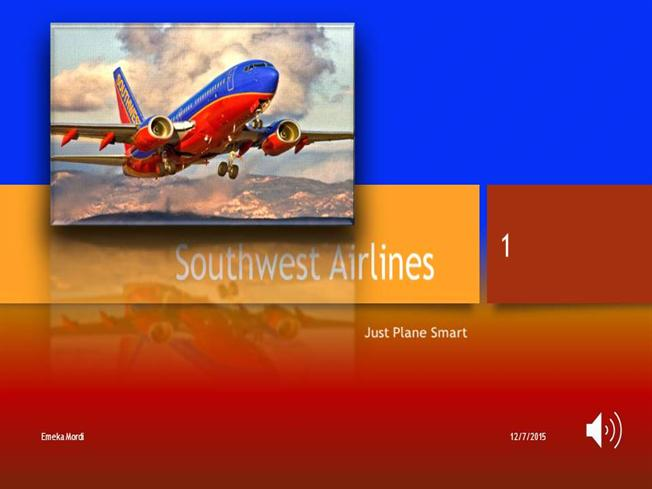 Southwest airlines presentation final authorstream toneelgroepblik Gallery