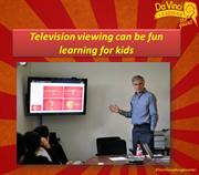 Television viewing can be fun learning for kids-Da Vinci Learning