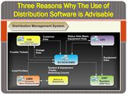Three Reasons Why The Use of Distribution Software is Advisable