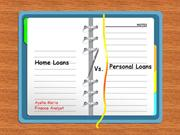 Personal loan vs Housing Loan