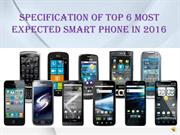 upcoming smart phones to expect in 2016