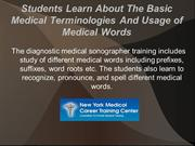 Different Topics You Learn At Diagnostic Medical Sonographer Training