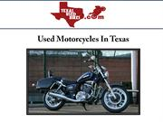 Used Motorcycles In Texas