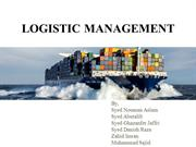 Logistic Management 4