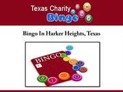 Bingo In Harker Heights, TX