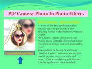 PIP Camera-Photo In Photo Effect free available on iTunes