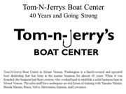 Tom-N-Jerrys Boat Center 40 Years and Going Strong