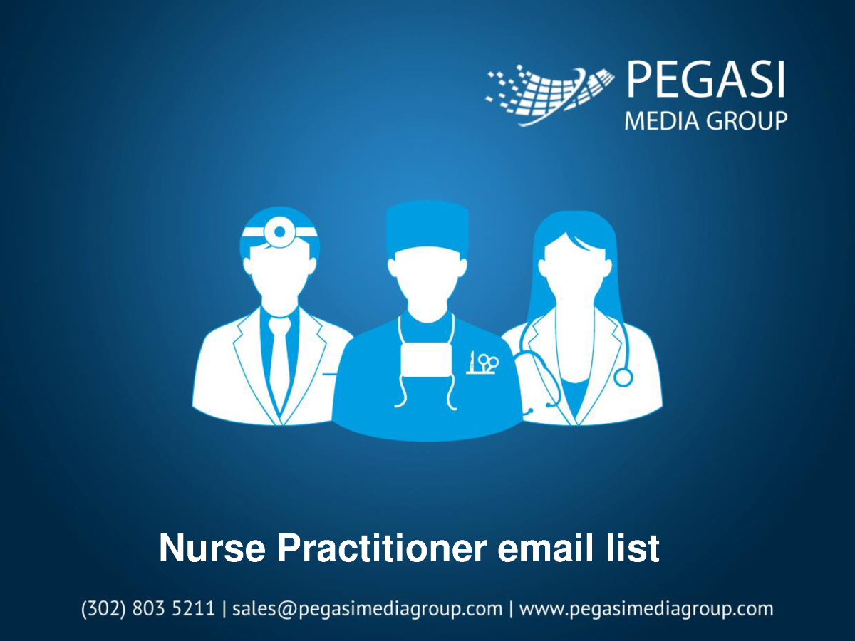 Nurse Practitioner Email List authorSTREAM
