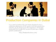 Production Companies in Dubai
