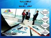 Real ERP Business Modules