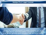 Family Law, Estate Planning and Probate Matters - Saraiya Pllc
