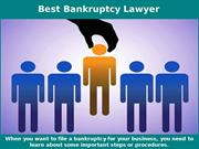 Best Bankruptcy Lawyer