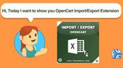 Opencart Import Export Extension