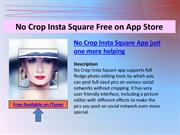 No crop insta square Free: Instagram Photo Collage Maker