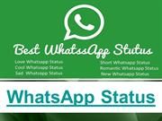 Daily Best Whatsapp Status For You