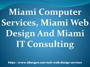 Miami Computer Services, Miami Web Design And Miami IT Consulting