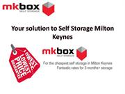 Self Storage in Milton Keynes | MK Box