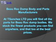 Beau Roc Dump Body and Parts Manufacturers