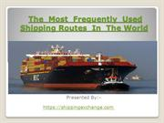 The  Most  Frequently  Used Shipping