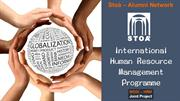 International Human Resource Management Programme by Stoà