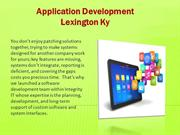 Application development lexington ky