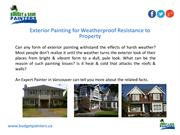 Weather-proof Exterior Painting Services