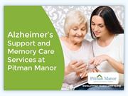 Memory Support Services in Monmouth County