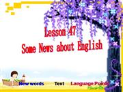 Lesson on English