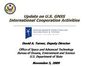 International Cooperation Activities